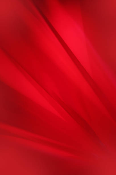 red abstract background diagonals - Photo
