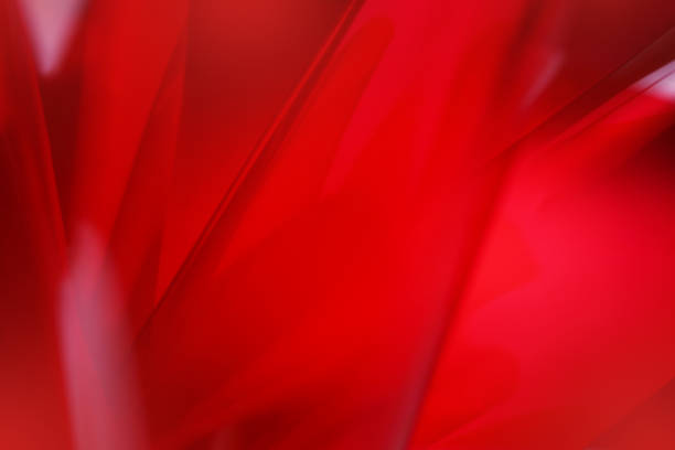 red abstract background soft lines - Photo