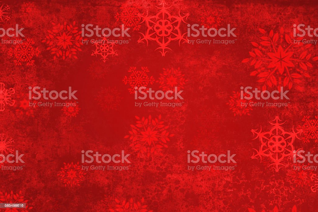 Red Abstract Christmas Background stock photo