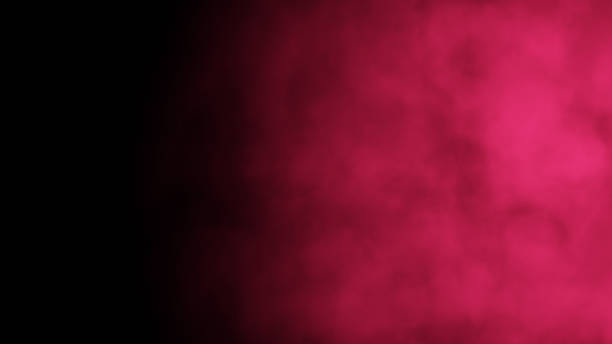 Red abstract cloud of smoke pattern stock photo