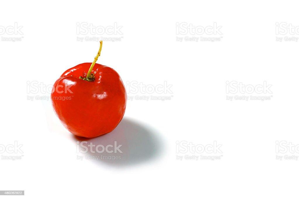 Acerola frutas vermelhas - foto de acervo