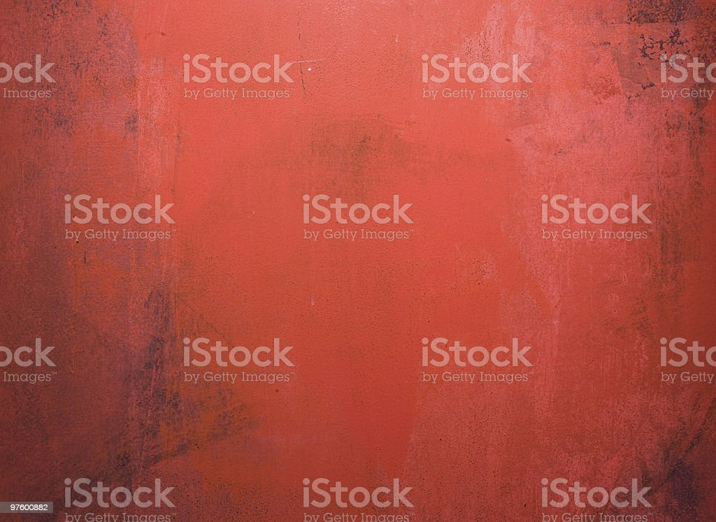 Red aged textured wall royaltyfri bildbanksbilder