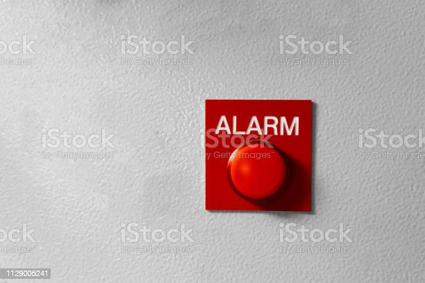 Red alarm button signal on the painted grey wall concept of any alarm picture id1129005241?b=1&k=6&m=1129005241&s=612x612&h=zznwgne 5tt73mc5v659sgigtd1k bt6uiyjktrlkec=