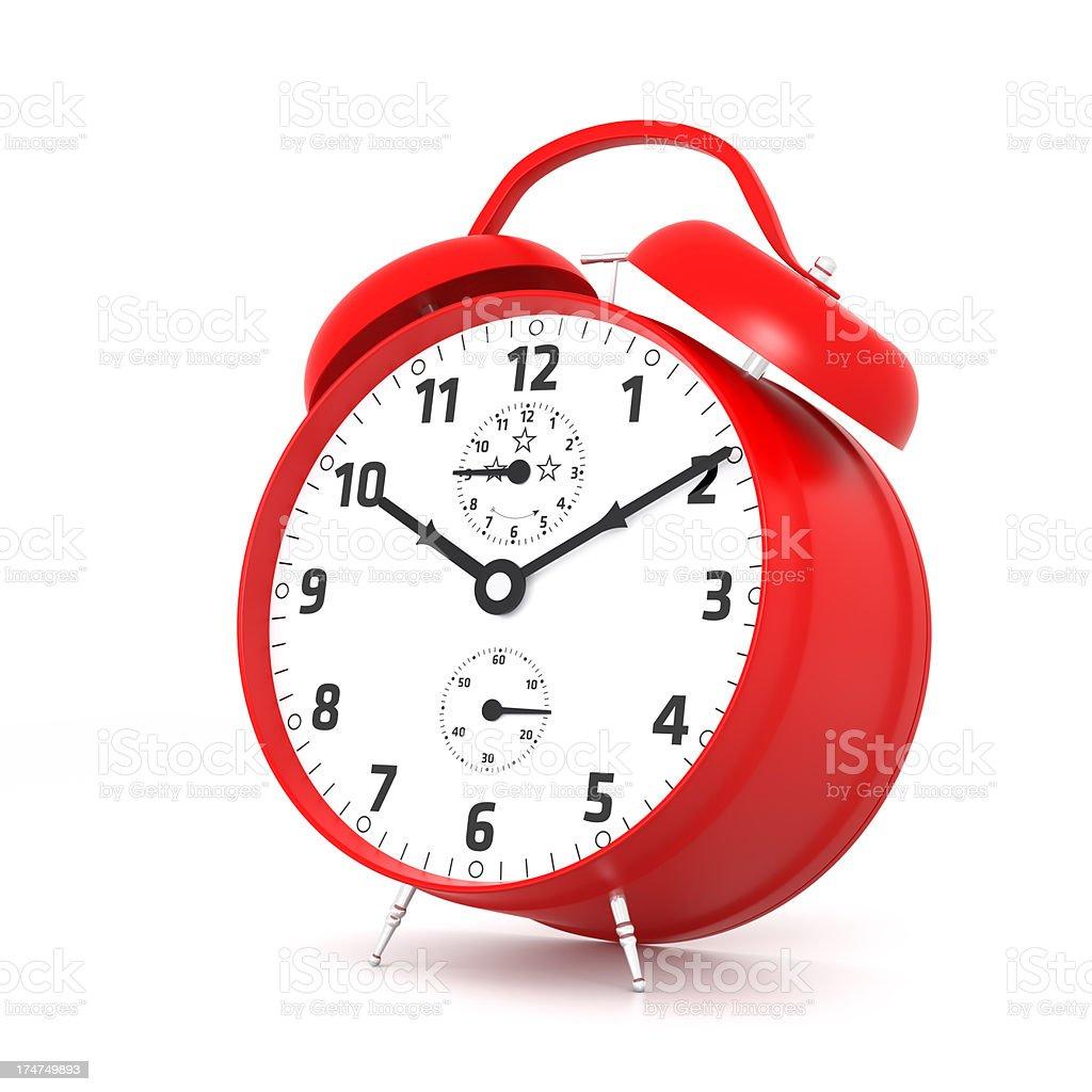 Red Alarm Clock royalty-free stock photo