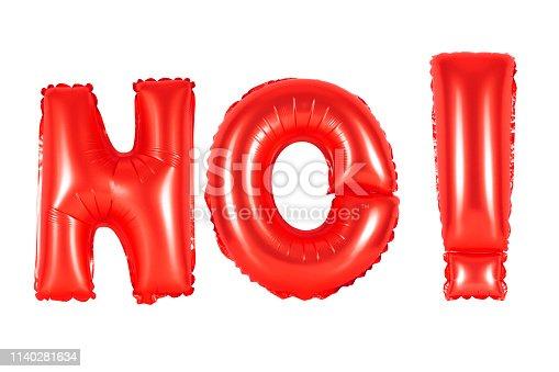 istock red alphabet balloons, acronym and abbreviation, no 1140281634