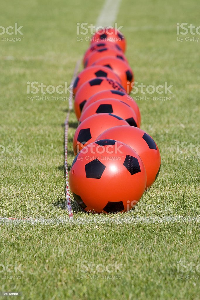 Red and Black Balls #2 stock photo