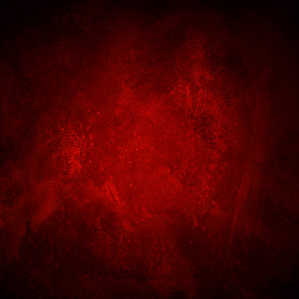 red and black grunge background stock photo