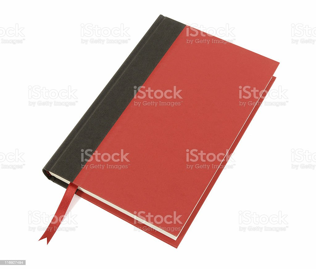 Red and black hardback book royalty-free stock photo