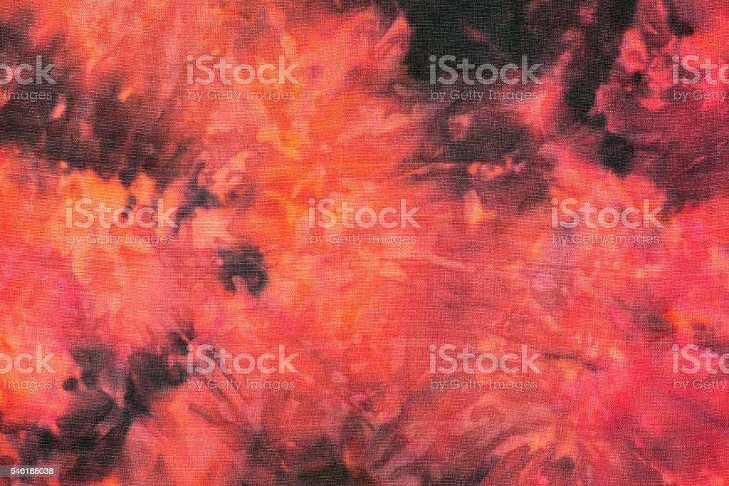 Red and black tie dye background