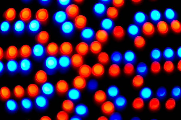 red and blue abstract background