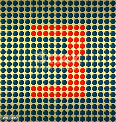 istock red and blue number on gold background 499984955