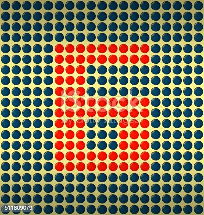 istock red and blue number on gold background 511809079