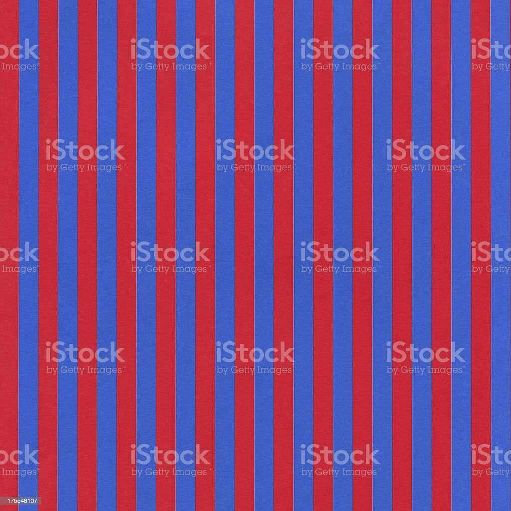 Red and Blue Striped Paper royalty-free stock photo