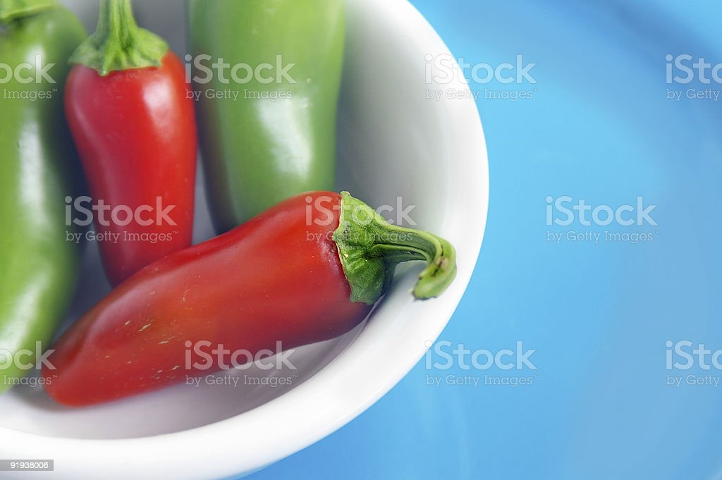 Red and green royalty-free stock photo