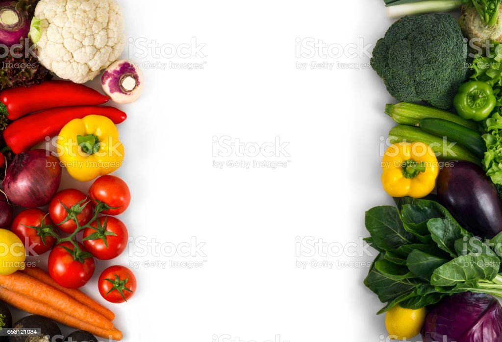 Red and Green Vegetables Background stock photo