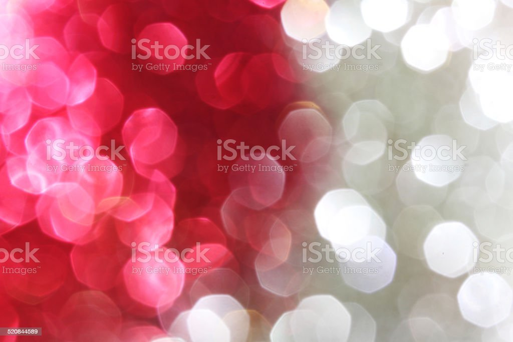 Red and silver sparkle background stock photo