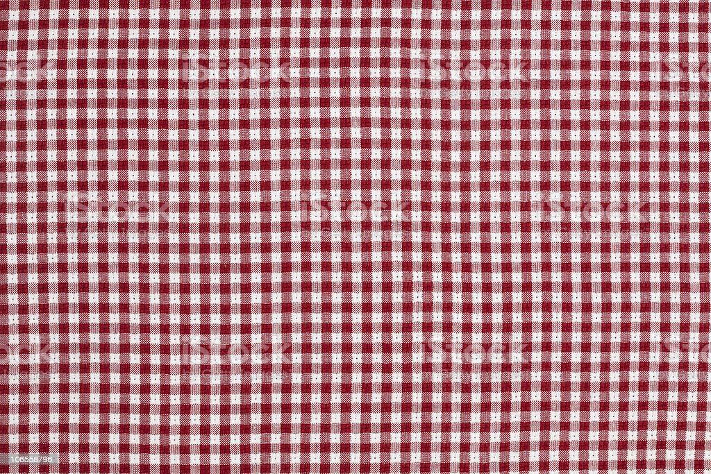 Rosso E Bianco A Quadretti Sfondo Di Tovaglia A Scacchi Fotografie