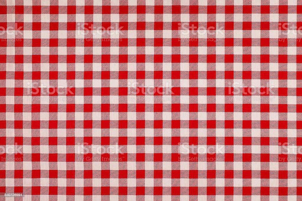 Rosso E Bianco In Stile Sfondo Di Cotone Vichy Fotografie Stock E