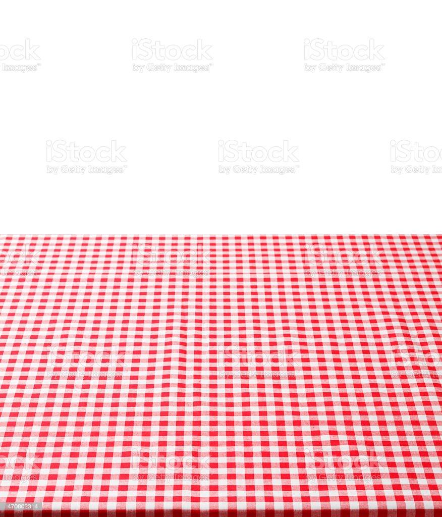 Rosso E Bianco A Quadretti Con Sfondo Tovaglia Fotografie Stock E
