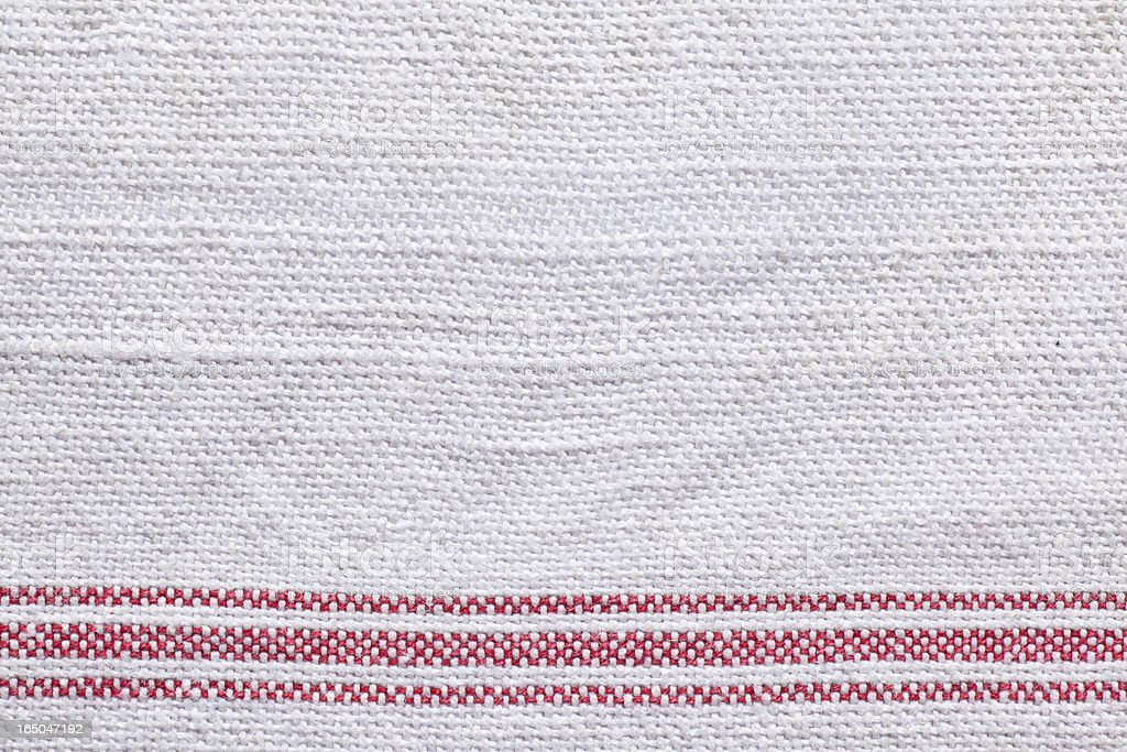 Red and white old linen background royalty-free stock photo