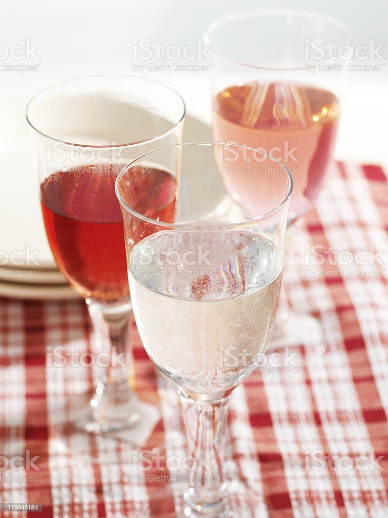 Red and White royalty-free stock photo