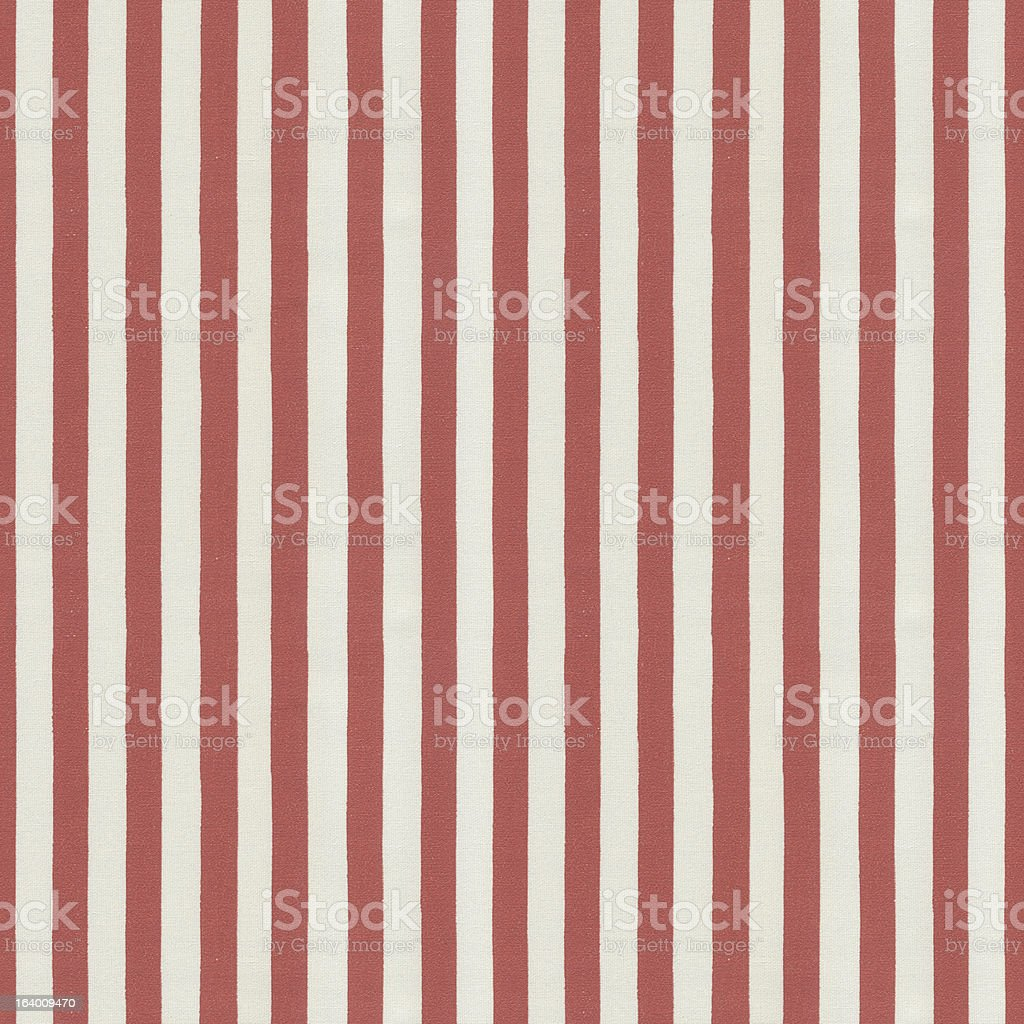 Red and White Stripped Tablecloth Pattern stock photo
