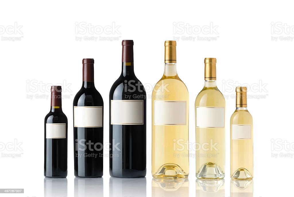 Red And White Wine Collection royalty-free stock photo