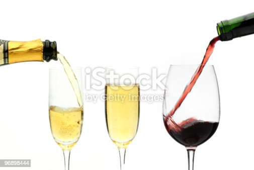 Red And White Wine Stock Photo & More Pictures of Color Image