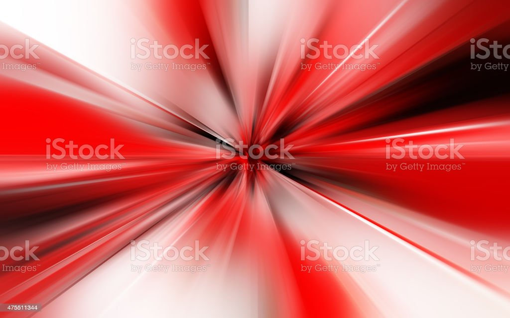 red and white with zoom effect background stock photo