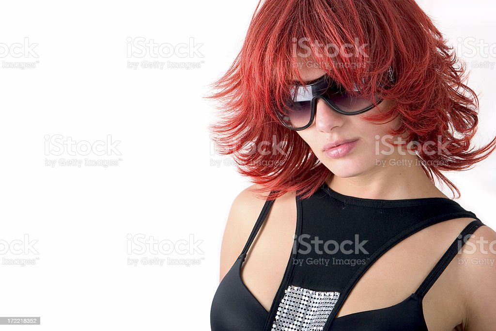 Red and wild stock photo
