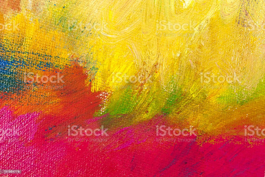 Red and yellow abstract background stock photo