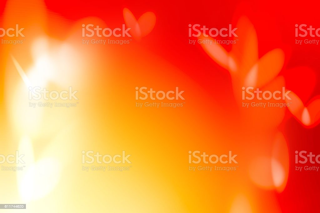 Red and Yellow Abstract Color Gradient Defocused Background stock photo