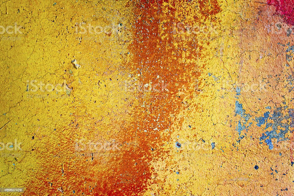 Red and yellow colored texture royalty-free stock photo