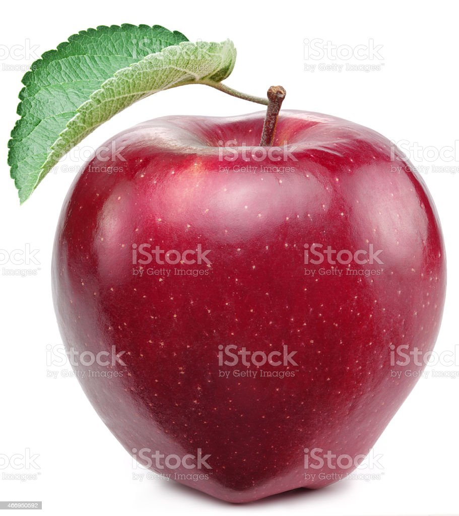 Red appl. stock photo