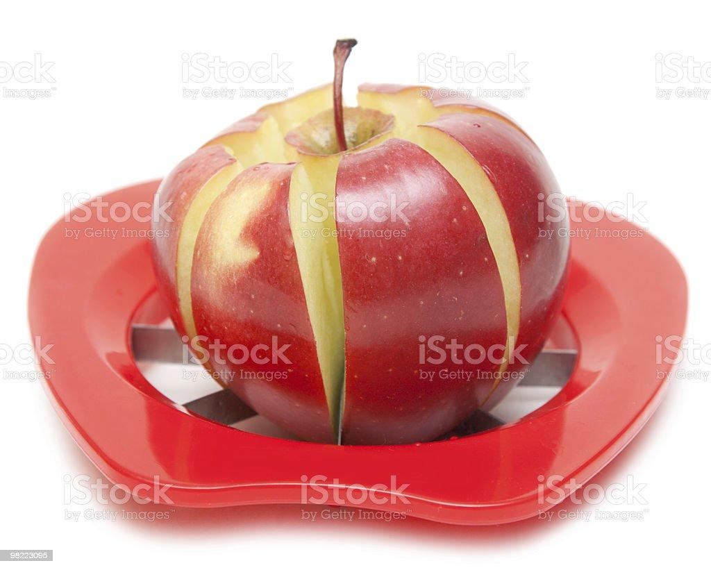 레드 사과나무 및 특별 나이프 royalty-free 스톡 사진