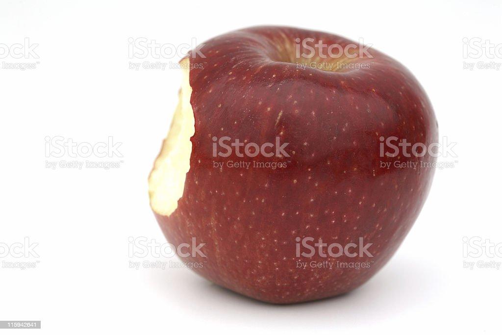 Pomme rouge de grave gelures aux membres - Photo
