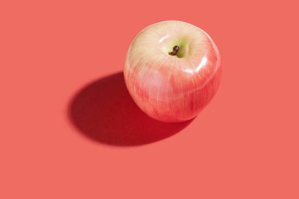 Red apple frutas - foto de stock