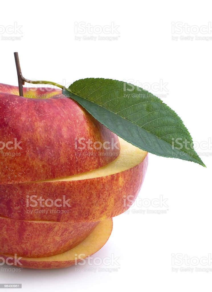 레드 사과나무 하나 royalty-free 스톡 사진