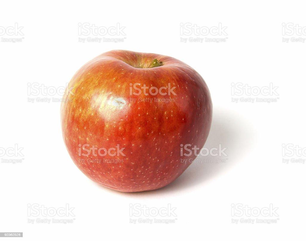 Roten Apfel Isoliert Lizenzfreies stock-foto