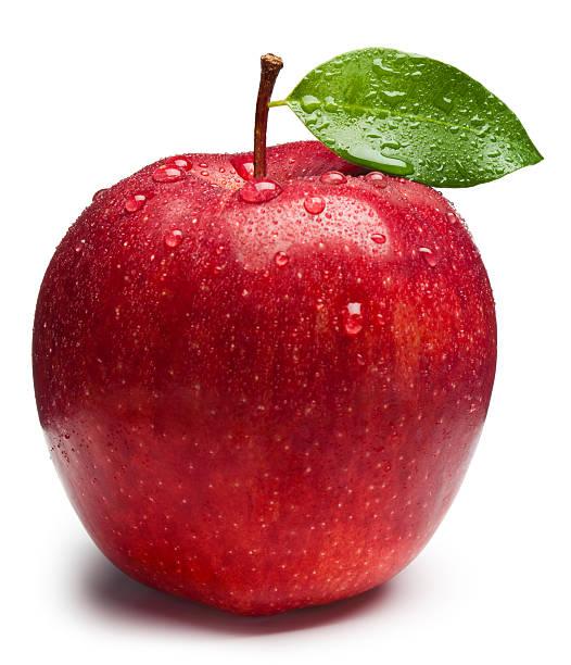 maçã vermelha - fruta - fotografias e filmes do acervo