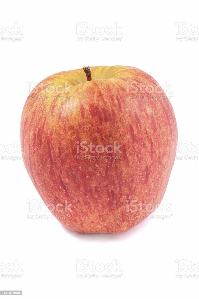 Red apple royaltyfri bildbanksbilder