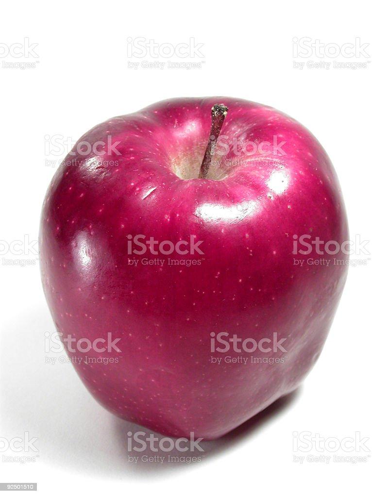 Roter Apfel Lizenzfreies stock-foto