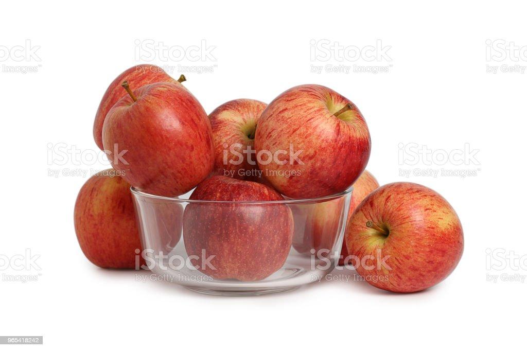 Red apple zbiór zdjęć royalty-free