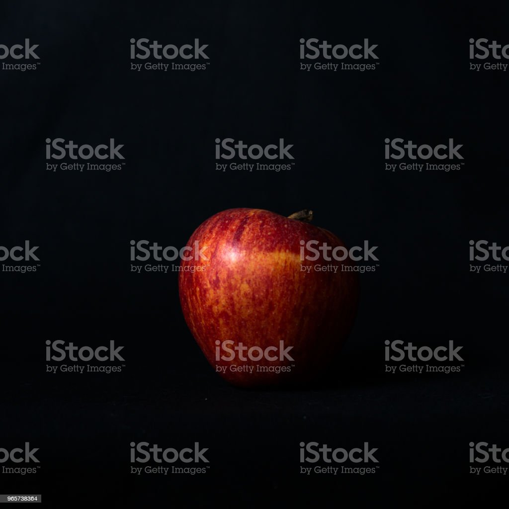 Rode appel - Royalty-free Appel Stockfoto