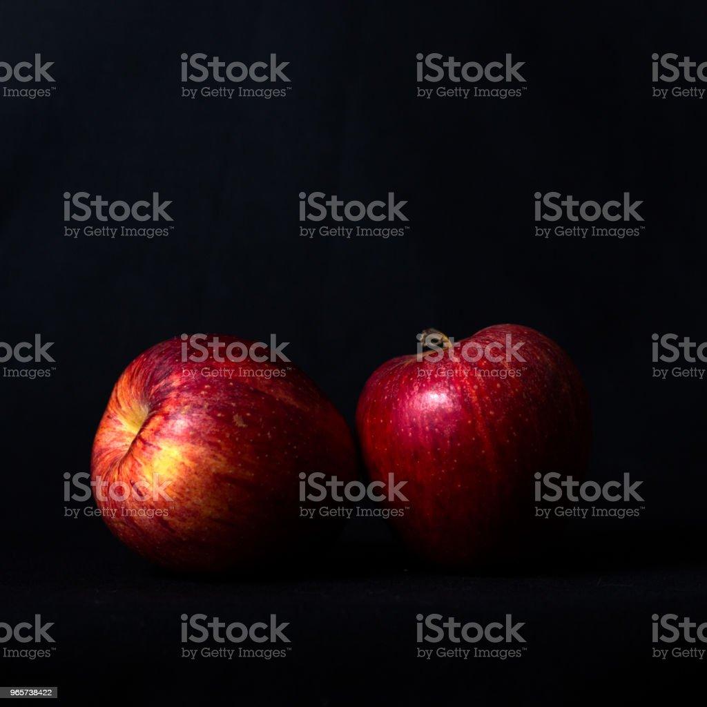 Red apple - Royalty-free Espanha Foto de stock
