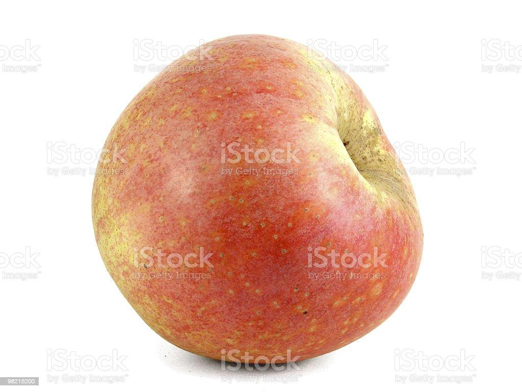 Красное яблоко. royalty-free stock photo