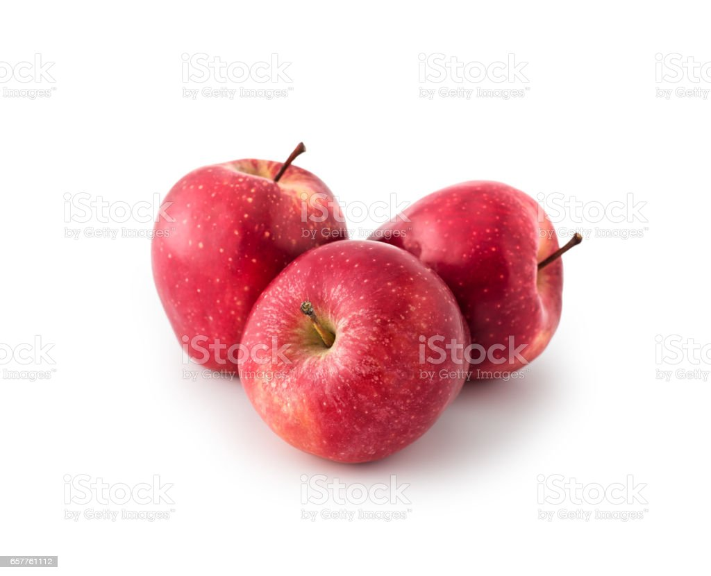 Red Apples , isolated stock photo