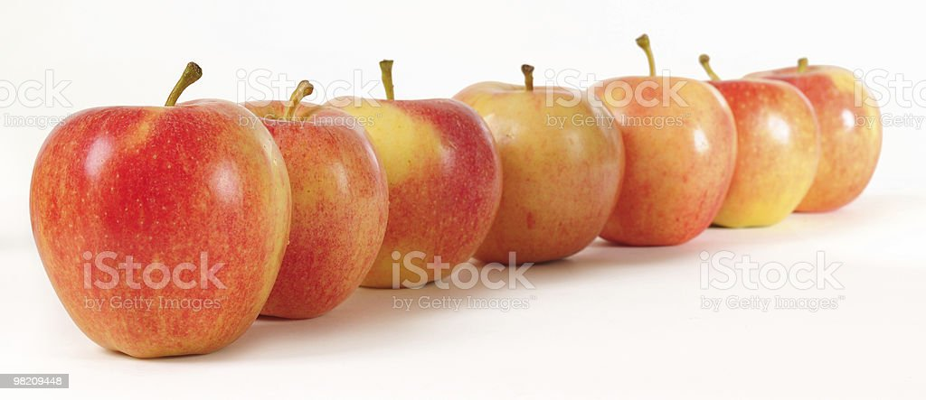 Red apples. royalty-free stock photo