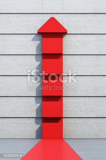 1062884120istockphoto red arrow going upward 1070237316