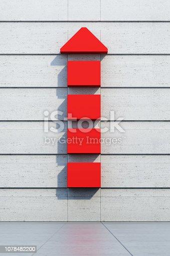 1062884120istockphoto red arrow going upward 1078482200
